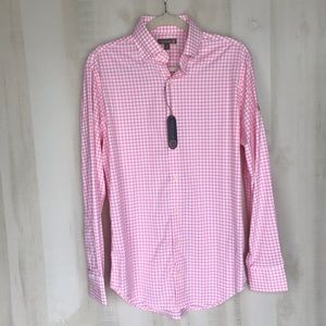 New Peter Millar Summer Comfort Button Down Small